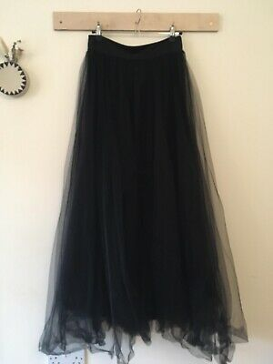 £10 • Buy Blush Street Couture Long Netted Skirt Size 1 (8-10)