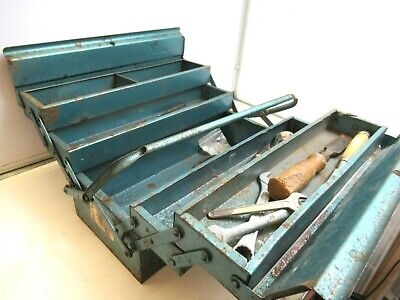 £5.50 • Buy Vintage Collectable Job Lot Of Old Tools Including Vintage Tool Box