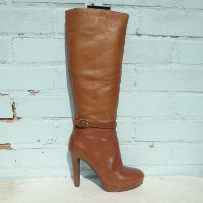 £39.99 • Buy Jessica Simpson Leather Boots Size UK 5 Eur 38 Womens Shoes Platform Brown Boots