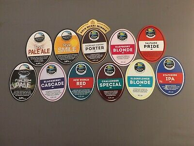£4.50 • Buy 11 SALTAIRE BREWERY - Pump Clips.