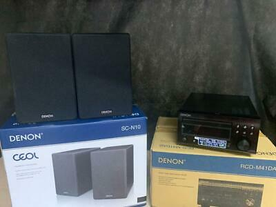 £215 • Buy Denon Rcd-m41dab Cd Receiver & Sc-n10 Speakers Boxed | Buy With Confidence!