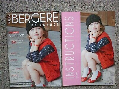 £1 • Buy Beregne De France , Knitting Booklet With Instruction Booklet No. 168