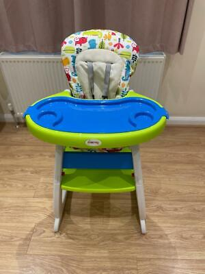 £30 • Buy GALACTICA Baby Highchair Infant High Feeding Seat 3in1 Toddler Table Chair