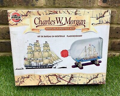 £22.49 • Buy AIRFIX KIT. CHARLES W. MORGAN. SHIP IN A BOTTLE. No  60002. Un Made