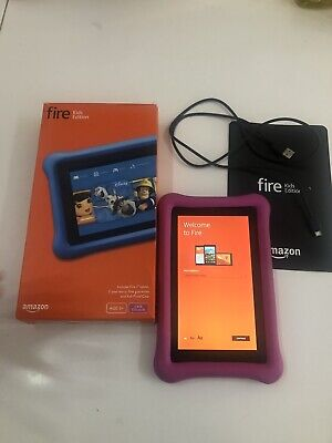 £23 • Buy Amazon Kindle Fire 5th Generation 16GB Wi-Fi 7inch Black Boxed Tablet