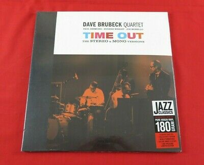 £17.95 • Buy Dave Brubeck Quartet Time Out The Stereo & Mono Versions (NEW & SEALED) Album