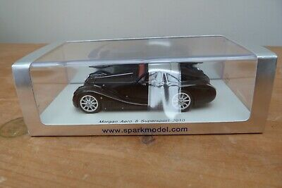 £49.99 • Buy Morgan Aero 8 Supersport 2010 By SPARK Models 1/43 Mint And Boxed