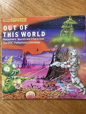 £12 • Buy BBC RADIOPHONIC WORKSHOP - Out Of This World LP Vinyl SOUND EFFECTS AMBIENT UK