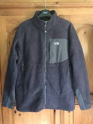 £12 • Buy North Face Boys Fleece Jacket, Size Xl, 18/20 Years, Grey, Technical, Top, Youth