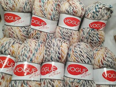 £23 • Buy Vogue Super Chunky Knitting Wool/Yarn Similar Lion Brand Wool Ease Thick & Quick