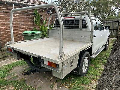 AU2500 • Buy UNIVERSAL STEEL UTE TRAY BACK TUB - Fitted To A NAVARA NP300 D23