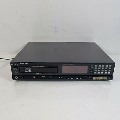 £39.99 • Buy Sony CDP-65 CD Player Hi-Fi Stereo Seperate System, Good Working Order No Remote