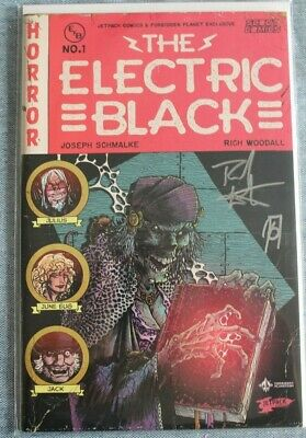 £49.99 • Buy Electric Black #1 (Forbidden Planet Exclusive Variant) Signed