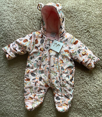 £6.50 • Buy 🌸New With Tags Bebe Bonito Baby Girl All In One Pram/Snow Suit 0-3 Months 🌸