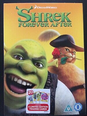 £2.97 • Buy Shrek Forever After (DVD) New Sealed (contains 4 Limited Edition Trading Cards)
