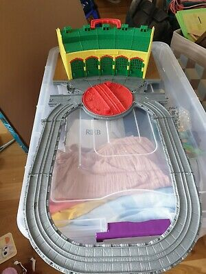£10 • Buy Thomas And Friends Take N Play Tidmouth Sheds Play Set, With Two Trains