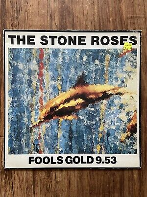 £69.99 • Buy The Stone Roses Fools Gold 9.53 12inch Single Gold Coloured  Vinyl