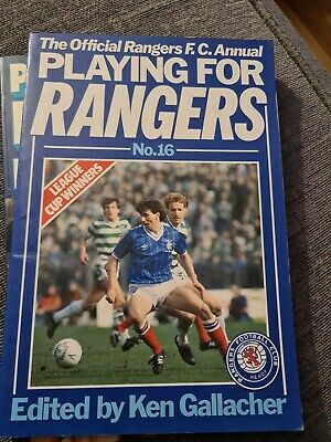 £8 • Buy Playing For Rangers: No. 16 Paperback Book The Cheap Fast Free Post