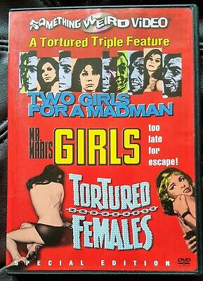 £4.99 • Buy Something Weird Video Two Girls For A Madman Rare Exploitation Region 1 DVD