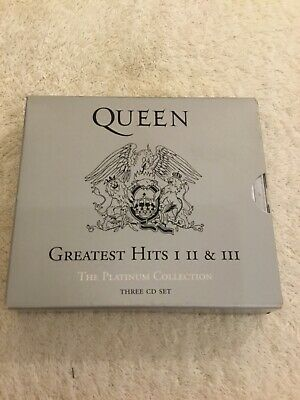 £9.50 • Buy Queens Greatest Hits Platinum Collection 1,2,3 Cd