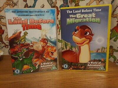 £4.79 • Buy The Land Before Time & The Great Migration Dvd