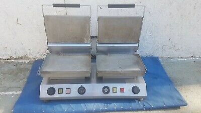 £225 • Buy Velox High Speed Double Flat Plate Twin Contact Grill Griddle Panini Commercial