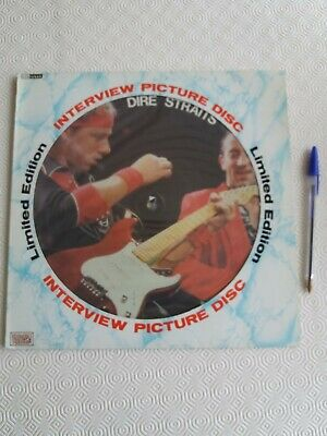 £10 • Buy Collectable Dire Straits Limited Edition Picture Disc (Interview)