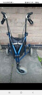 £4.95 • Buy Mobility Three Wheeled Walker Foldable