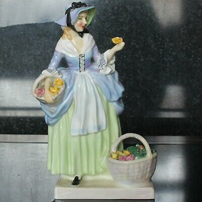 £19.99 • Buy Royal Doulton Figurine SPRING FLOWERS HN1807 Issued 1937