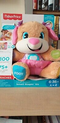 £10 • Buy Fisher-Price FPM43 Laugh & Learn Smart Stages Puppy Educational Toy