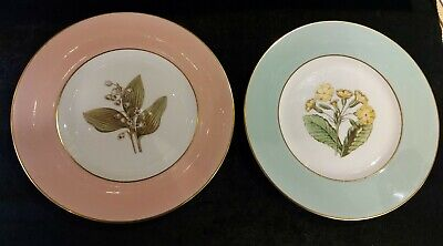 £10 • Buy Royal Worcester A.H.Williamson Plates Lilly Of The Valley  Polyanthus