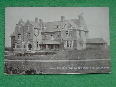 £3 • Buy Postcard Of Herne Bay Friendly Society's Convalescent Home Kent