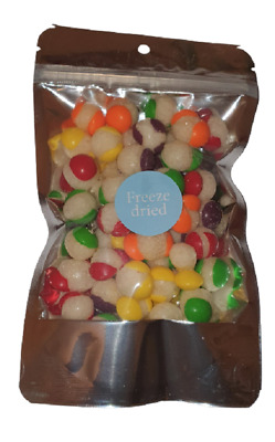 £5.40 • Buy Skittles Popped Candy Freeze Dried American Sweets Snacks Gift Bag 50g
