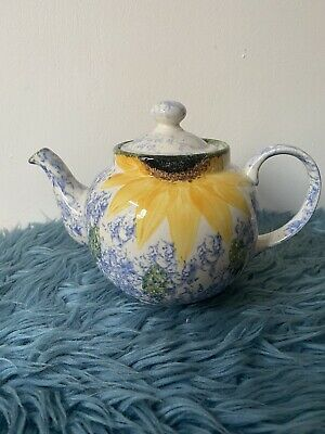 £6.50 • Buy Whittard Of Chelsea Sunflower Teapot. Excellent Condition No Chips.