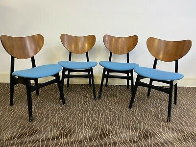 £145 • Buy A Set Of 4 G Plan E Gomme Librenza 'Butterfly' Dining Chairs - We Can Deliver