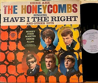 £18.27 • Buy Here Are The Honeycombs Have I The Right Vinyl LP Interphon 88001 Mono 1st Press
