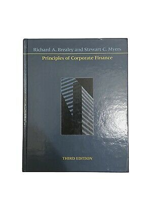 £26.92 • Buy Principles Of Corporate Finance 3rd Edition Book Brealey Myers Hardcover