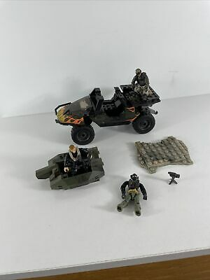 £35.58 • Buy Mega Bloks Construx Call Of Duty Army Figures And Accessories Lot Rare Car As Is