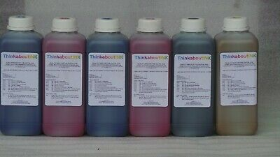 AU14 • Buy Eco Solvent Ink For Roland Mimaki Mutoh Printers C M Y K 1 Lt. Japanese Quality