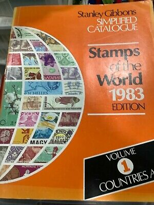 £35 • Buy Stamps Of The World 1983 A Stanley Gibbons Catalogue