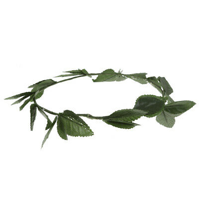 £3.84 • Buy Womens Green Leaves Wreath Headpiece Toga Dress Up Party Costume Accessories