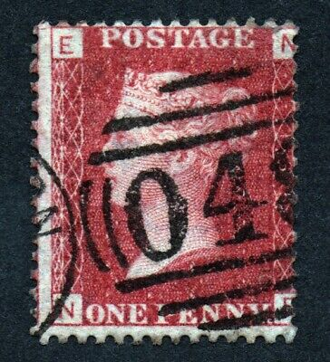 £1.04 • Buy GB QUEEN VICTORIA SG43 PENNY RED Plate 135  NE - See Scans