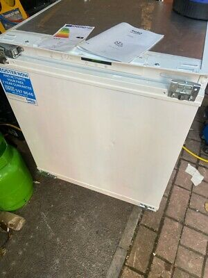 £165 • Buy Beko BSFF3682 Integrated Built-In Under Counter Freezer Ok For Outbuildings PWI