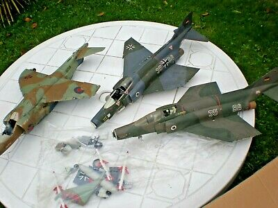 £14.99 • Buy AIRFIX 1/24 Jets Made Up Plane X3 Kit Parts For Spares Repair Incomplete