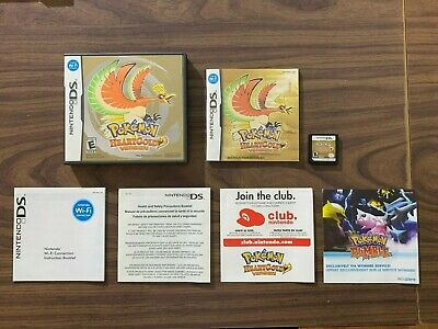 $174.99 • Buy Pokemon: HeartGold Version (Nintendo DS) Authentic With Game Cart, Case, Manual