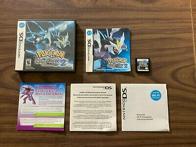 $144.95 • Buy Pokemon: Black 2 (Nintendo DS) Complete -- Authentic -- Tested