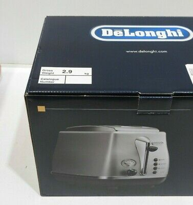 AU109.99 • Buy DeLonghi Stainless Steel Icona Toaster - CTO2003S