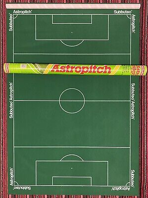 £40 • Buy Subbuteo Astro Pitch 61178 + Tube Caps Rolling Tube Excellent Table Football