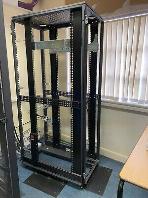 £60 • Buy Server Rack - Open 200H,100 Outer D, 74 Inner D, 61 Outer W, 51 Inner W COLLECT