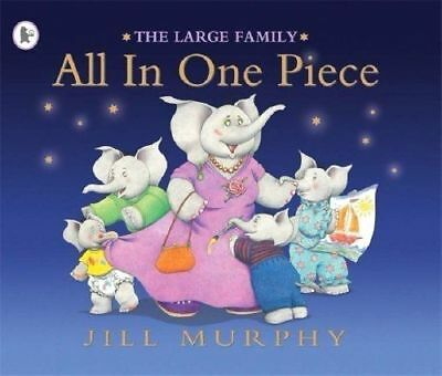 £3.50 • Buy The Large Family: ALL IN ONE PIECE By Jill Murphy - Preschool Bedtime Story Book